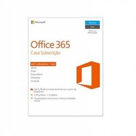 Office 365 Home 32/64 Português Subscr 1YR Eurozon