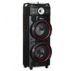 500W Bluetooth Speaker, Double Subwoofer, USB, SD,