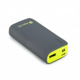 NGS 4000 mAh Powerbank with 5V1A output - Yellow - POWERPUMP4000LEMON