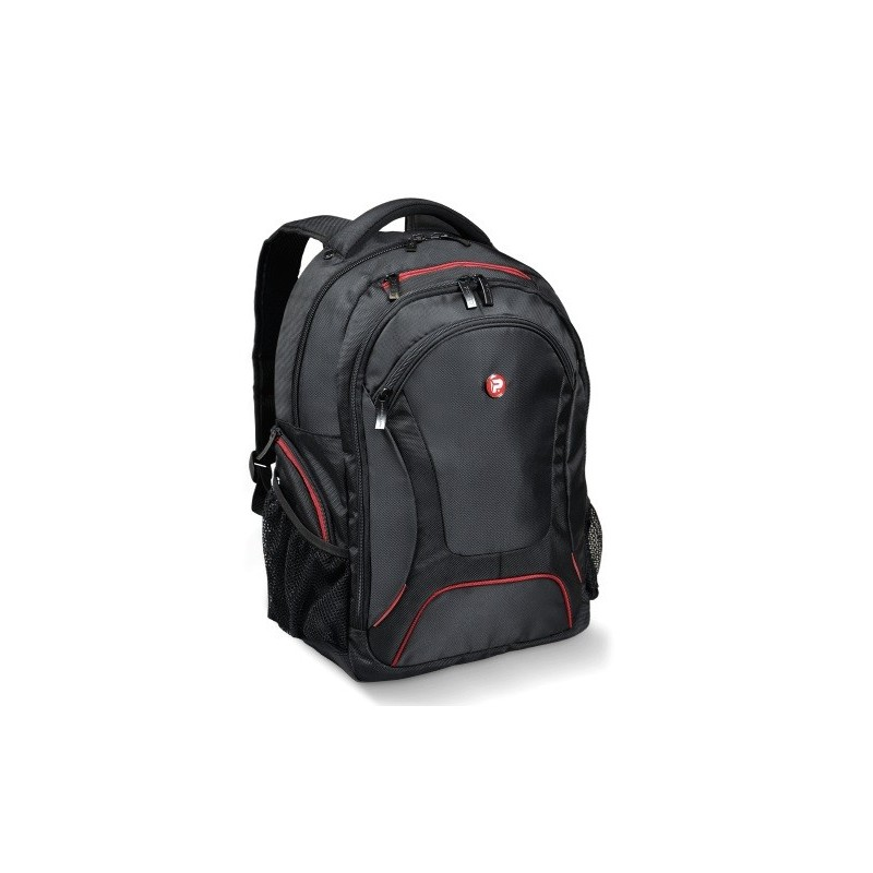 Port Designs Mochila Courchevel PretoVermelho 17.3'' 160511