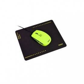 Rato Wired - NEON LIME + mouse pad