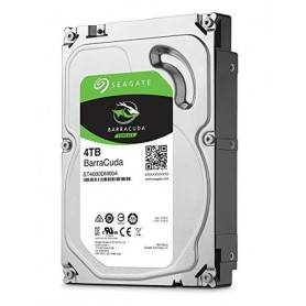 Seagate Barracuda ST4000DM004 - Disco rígido - 4 TB - interna - 3.5' - SATA 6Gb/s - 5400 rpm - buffer. 256 MB