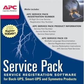 APC Service Pack + 1Y Warranty ext. p/BE400-SP, BE550G-SP, BE700G-SP, SC420I, SC450RMI1U e SC620I - WBEXTWAR1YR-SP-01