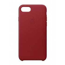 Apple iPhone 8 / 7 Leather Case - (PRODUCT)RED - MQHA2ZM/A