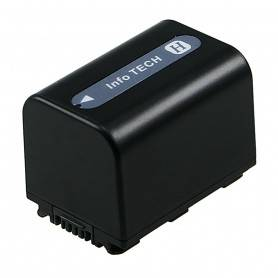 Battery Camcorder Lithium ion - Camcorder Battery 6.8V 1500mAh (Sony NP-FH60, NP-FH70)