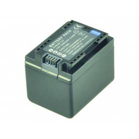 Battery Camcorder Lithium ion - Camcorder Battery 3.6V 2400mAh (Replaces Canon BP-727)