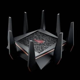 Asus Rog Capture GT-AC5300 - Wireless AC5300 Tri-band Gigabit Router, 802.11ac, 2167 Mbps + 2167 Mbps (5GHz-1 and 5GHz-2)
