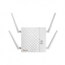Asus RP-AC87 Wireless-AC2600 Dual Band Repeater, Access Point, Media Bridge, signal strength indicator, Extender app