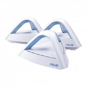 Asus Lyra Trio  - AC1750 Dual Band Mesh WiFi System, 450+1300MBps Internal antenna x3, MIMO support - 90IG04M0-BO3R10