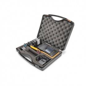 Simple Fusion Splicer Hand-Held for FTTH SM- MM- 250 and 900 fiberholder, color black-orang striper and cleaver includet