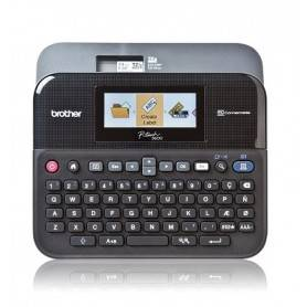 P-TOUCH PT-D600VP - Rotuladora: Fitas TZe de 3,5mm