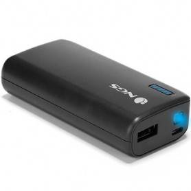 NGS 4000 mAh Powerbank with 5V1A output - Black - POWERPUMP4000