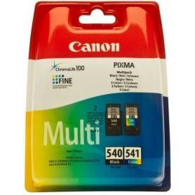 Canon Pack Papel + tinteiros - Papel Foto. 4x6  + PG-540XL/CL-541XL Black & XL Colour Toners Blistered with security - 5222B014