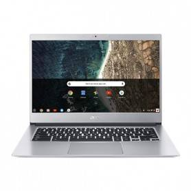 Acer Chromebook 514-1H - Intel Pentium N4200 Quad-Core 2.5GHz, 8GB LPDDR4, 64GB eMMC, LED 14'' HD LED, Prateado - NX.H1QEB.002