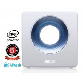 Asus BLUECAVE Wireless-AC2600 Dual-Band Wi-Fi Router, 733Mbps , 800Mbps , RJ45 Gb WAN, Gb LANx4USB 3.1 DC CPU - 90IG03W1-BM3010