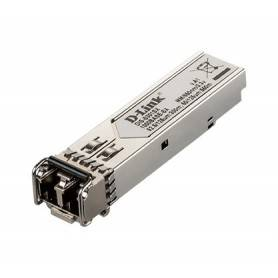 D-link 1-port Mini-GBIC SFP to 1000BaseSX Transceiver - Mini GBIC to 1000BaseSX Gb Multi-mode Fiber Transceiver - DIS-S301SX