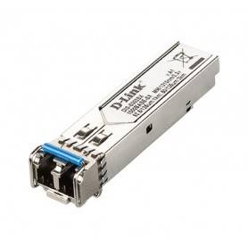 D-link 1-port Mini-GBIC SFP to 1000BaseSX Transceiver - Mini GBIC to 1000BaseSX Gb Multi-mode Fiber Transceiver - DIS-S302SX
