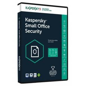 Kaspersky Small Office Security 6 for 9-Mob device, 9-Desktop, 1-FS, 1 year Renewal Lic. Pack