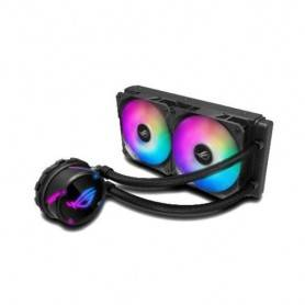 Asus ROG STRIX LC 240 RGB all-in-one liquid CPU cooler with Aura Sync RGB, and ROG 120mm ARGB radiator fan - 90RC0061-M0UAY0