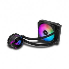 Asus ROG STRIX LC 120 RGB all-in-one liquid CPU cooler with Aura Sync RGB, and ROG 120mm ARGB radiator fan - 90RC0051-M0UAY0