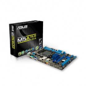 Asus M5A78L-M LX3 - AMD760G Socket AM3+, 2DDR3(Dual Channel), Grafica Integrada,MicroAtx - 90-MIBI40-G0EAY0GZ
