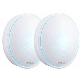 Asus Lyra Mini AC1300 2XPK - Complete Home Wi-Fi Mesh System Dual-band, up to 3000 sq. ft - 90IG04B0-BO0B30