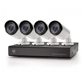 8-Channel AHD CCTV Surveillance Kit With 1Tb