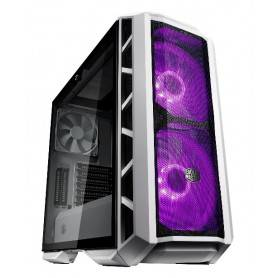 MasterCase H500P Mesh White Edition, 2x 200mm RGB