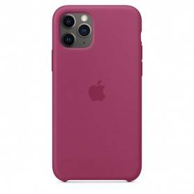 Apple iPhone 11 Pro Silicone Case - Pomegranate - MXM62ZM/A