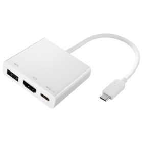 ADAPTADOR USB Type-C  HDMI 2-POWER HUB0104A