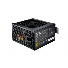 Cooler_Master MWE Gold 550W, 80 Plus Gold, 120mm LBD Fan, Flat cables, 5 Years Warranty - MPY-5501-ACAAG-EU