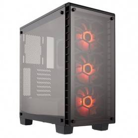 CRYSTAL SERIES 460X RGB,  TEMPERED GLASS, COMPACT