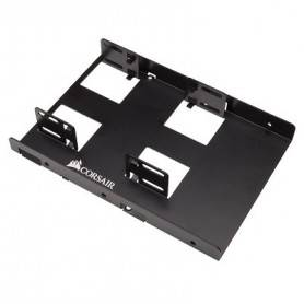"Dual 2.5"" SSD to 3.5"" drive bay bracket"