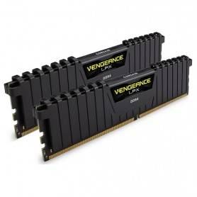 Corsair DDR4, 2133MHz 32GB 2 x 288 DIMM, Vengeance LPX Black Heat spreader - CMK32GX4M2A2133C13