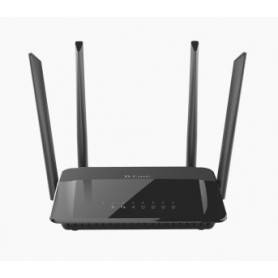 Wireless AC1200 Dual Band Gigabit Router with exte