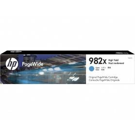 HP 982X High Yield Cyan Original PageWide Cartridg