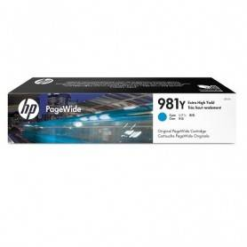 HP 981Y Extra High Yield Cyan Original PageWide Ca