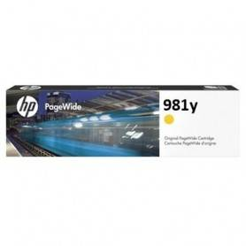 HP 981Y Extra High Yield Yellow Original PageWide