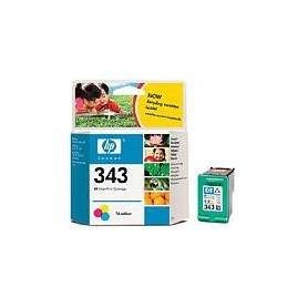 2-pack of HP 343 Tricolor Print Cartridge with Vivera Ink - CB332EE
