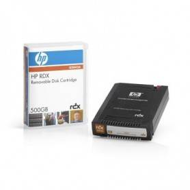 HP RDX 500GB Removable Disk Cartridge with 500GB n