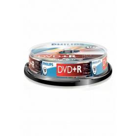 Philips DVD+R 4,7GB 16x Cakebox (10 unidades) - DR4S6B10F