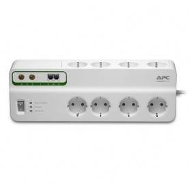 APC Performance SurgeArrest 8 outlets with Phone & Coax Protection 230V Germany - PMF83VT-GR
