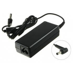 Power AC adapter 110-240V - AC Adapter 3.42A, 65W 19V 3 Pin Socket includes power cable (Delta Brand with Right Angle Jack Plug)