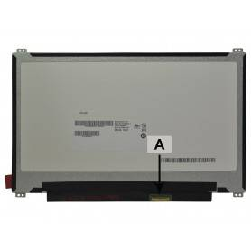Laptop LCD panel 2-Power  - 11.6 1366x768 HD LED Glossy SCR0598A