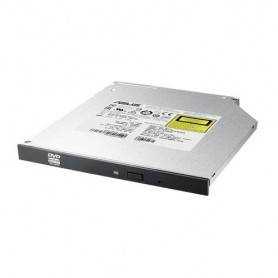 Asus SDRW-08U1MT/BLK - Internal slim 8X DVD writer(BULK), 9.5 mm with bezel, M-DISC support, E-Green, E-Media - 90DD027X-B10000