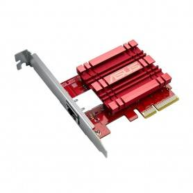 Asus XG-C100C - 10GBase-T Network Adapter W/ backward compatibility of 5/2.5/1Gbps and 100Mbps. RJ45 port and built-in QoS