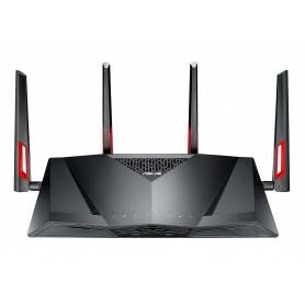 Asus DSL-AC88U Dual-Band Wireless VDSL2/ADSL Modem AC3100 Router, 802.11ac, 2167+1000 Mbps, Future-proof DSL technology