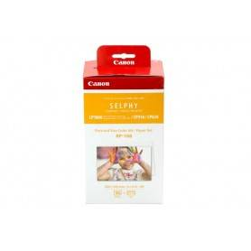 Canon Pack Papel + tinteiro RP-108IN - Cartão Postal 108 Folhas 100 x 148 mm + Color Ink - 8568B001AA
