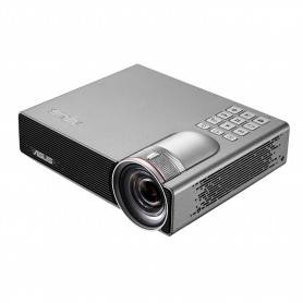 Asus P3E Portable LED Projector, WXGA , 800 lumens, HDMI/ MHL/VGA port, built-in speaker, up to 200 inch - 90LJ0070-B01120