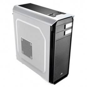 Caixa AEROCOOL AERO500 ATX/Micro-ATX/Mini-ITX/Midi-Tower c/Window USB3.0/2xUSB2.0, White - AERO500WH